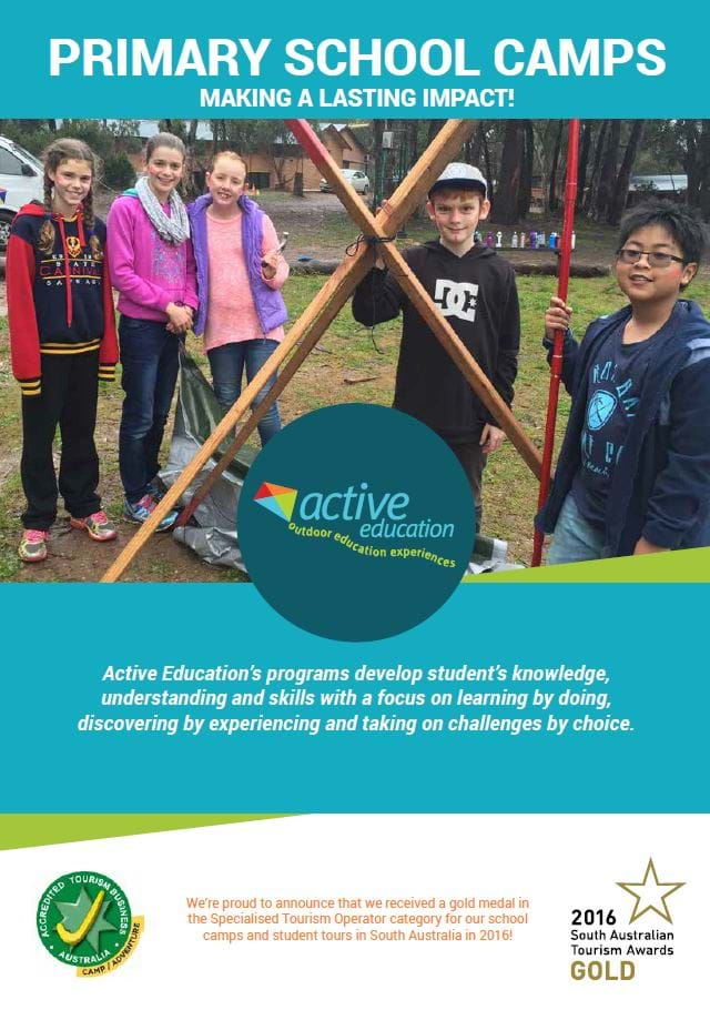 Primary School Camp Brochure
